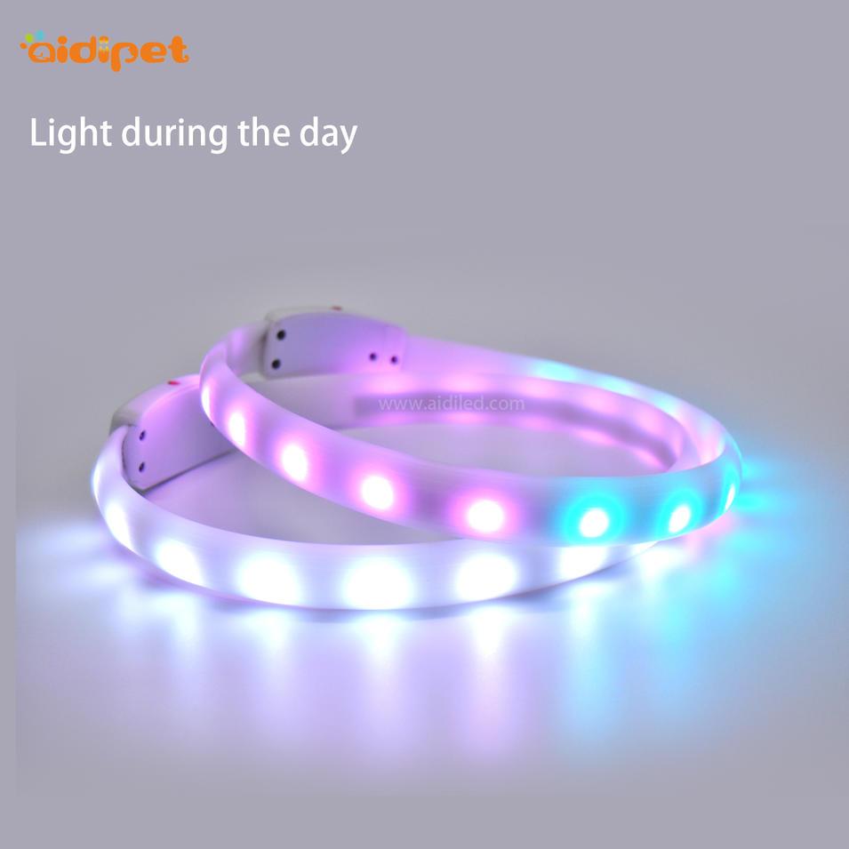 Flashing Mode Night Training LED Dog Collar