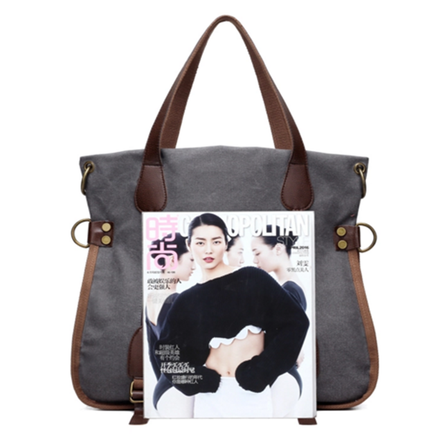 product-Osgoodway Fashion Big Women Canvas Bag Ladies Shoulder Bags Handbags Women Famous Brands Lar-1