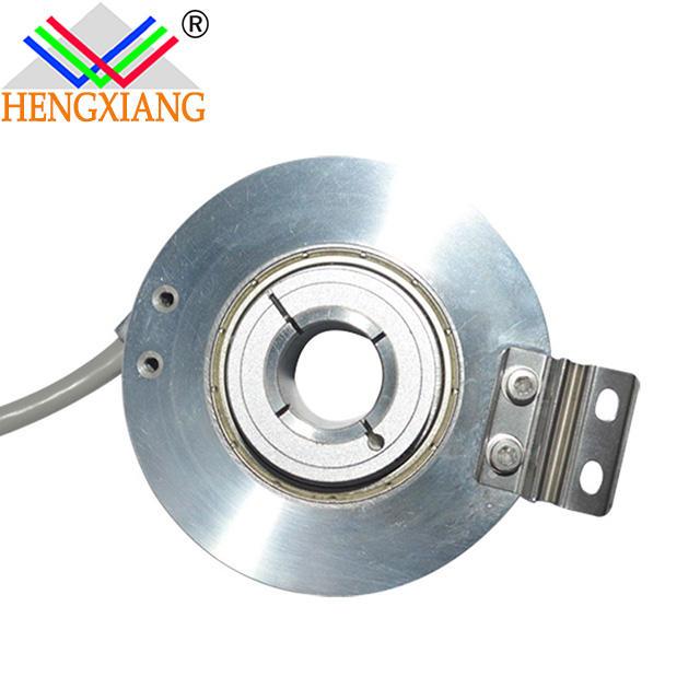 K76 hollow shaft encoder 24v dc motor encoder 48000ppr