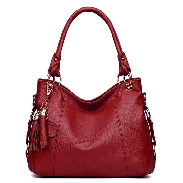 Osgoodway12 Women Real Split Genuine Leather Shoulder Bag Female Leisure Nubuck Casual Handbag Hobo Messenger Top-handle bags