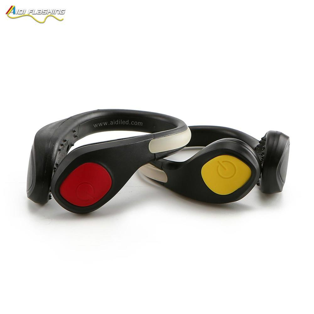 outdoor sports running usb rechargeable led shoe light for night running camping