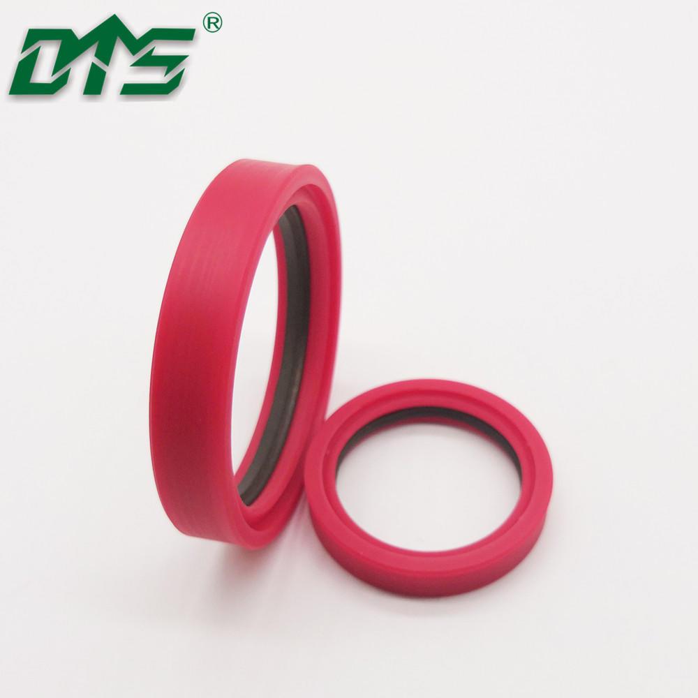 Filled PTFE Tandem Seals Low Friction Cylinder Shaft Rod Seal TDI