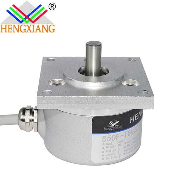 Flange fixed S50F Encoder ultrasonic level sensor