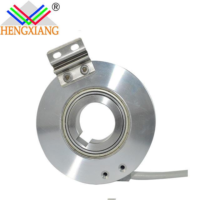 KC76 through hole shaft 20mm shaft slot 6mm A+B+Z+A-B-Z- line driver HTL 5-30VDC 1024ppr optical sensor encoder