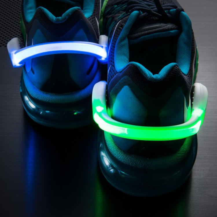 Factory outlet Outdoor Bike Cycling LED Shoe Clip Light Night Safety Warning For Running