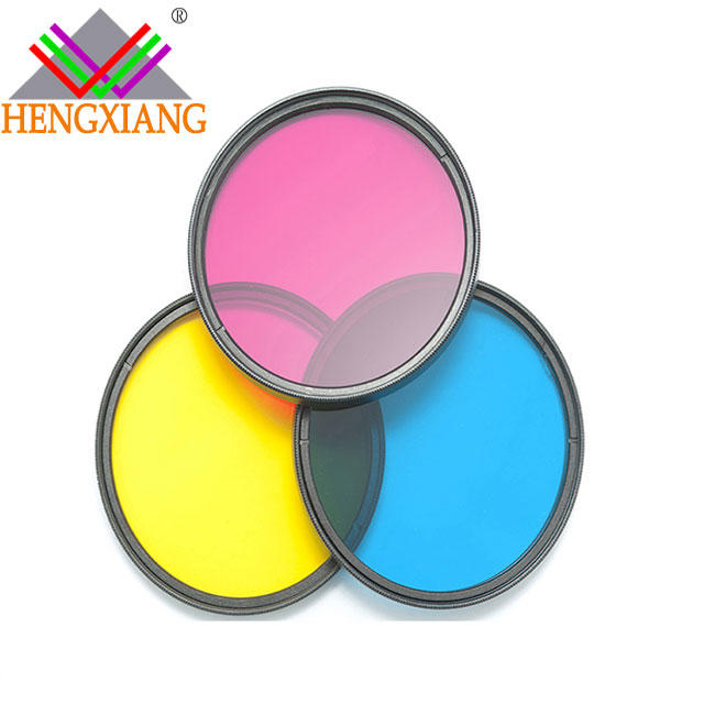 Color optical glass filters filter filter g4 for projector
