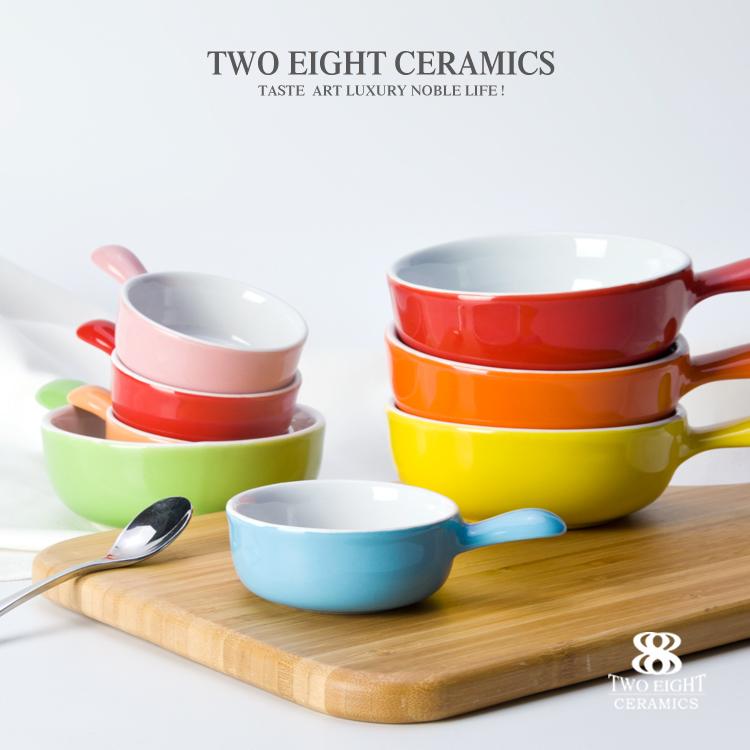 color salad bowl set Color Ceramic Stew Pot for Sale color stewpot