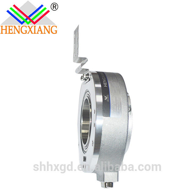 1024pulse elevator encoder K100 hollow shaft elevator rotary encoder lift encoder digital output TTL/HTL