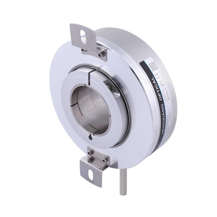 large hollow shaft encoder K130 incremental encoder hole dia 48mm,55mm,60mm encoder max 65536ppr hgh resolution