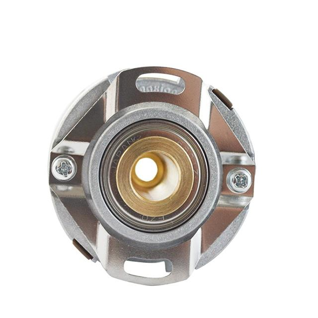KN40 thin 20mm hollow shaft 8mm 5VDC UVW 1000ppr line driver A/B/Z/U/V/W 15 cord wires dc motor encoder QR145-05/05-1000-6-01-T3