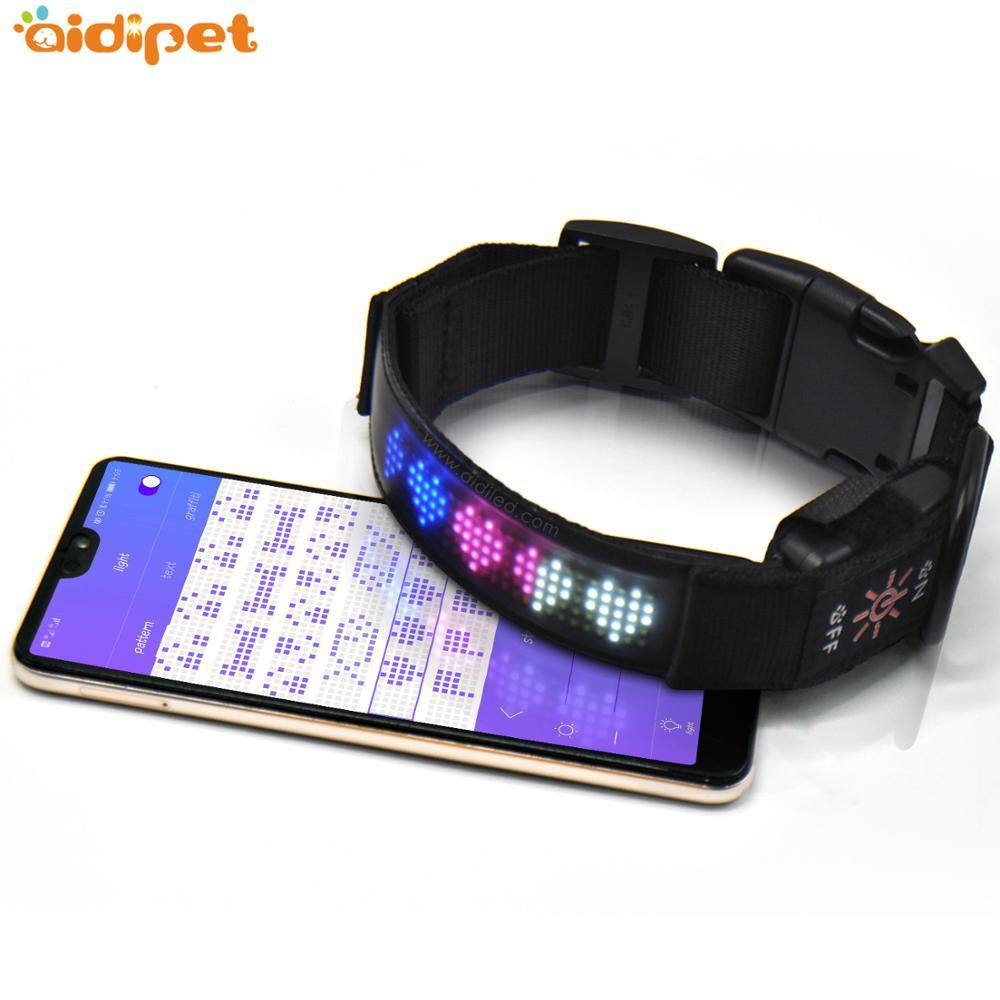 Pet Accessories Recharge Safety LED Light Dog Collar
