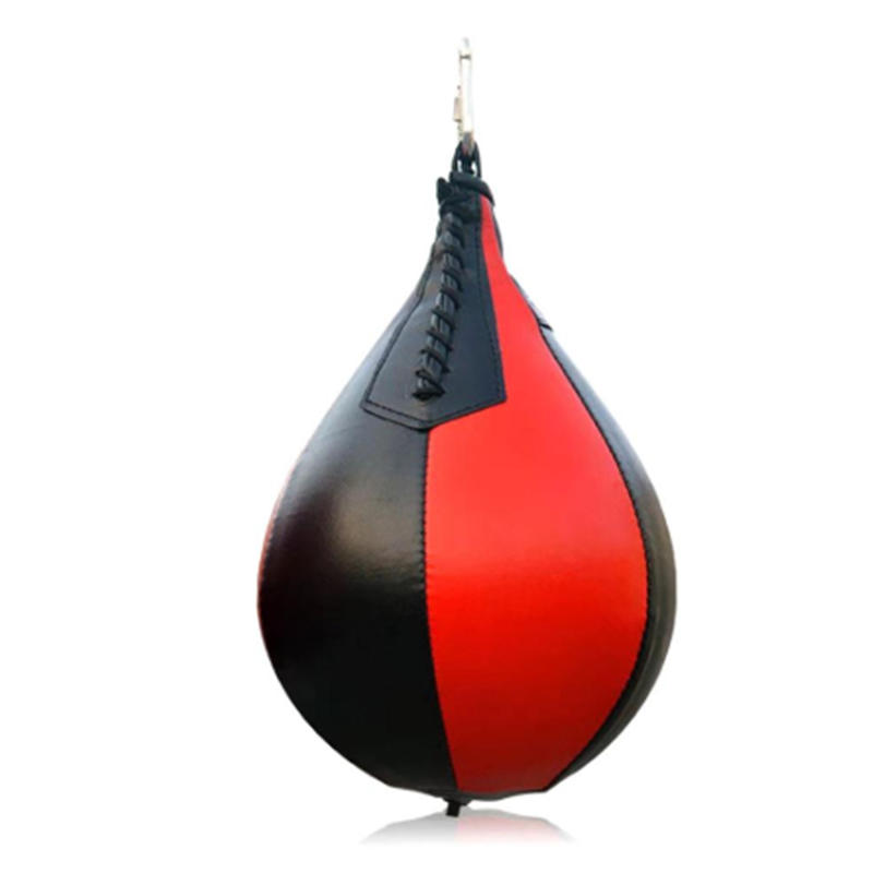 Inflatable Boxing Pear Leather Boxing Punching Bag Speed ball Sport Speed Bag Punch Exercise Fitness Training Ball