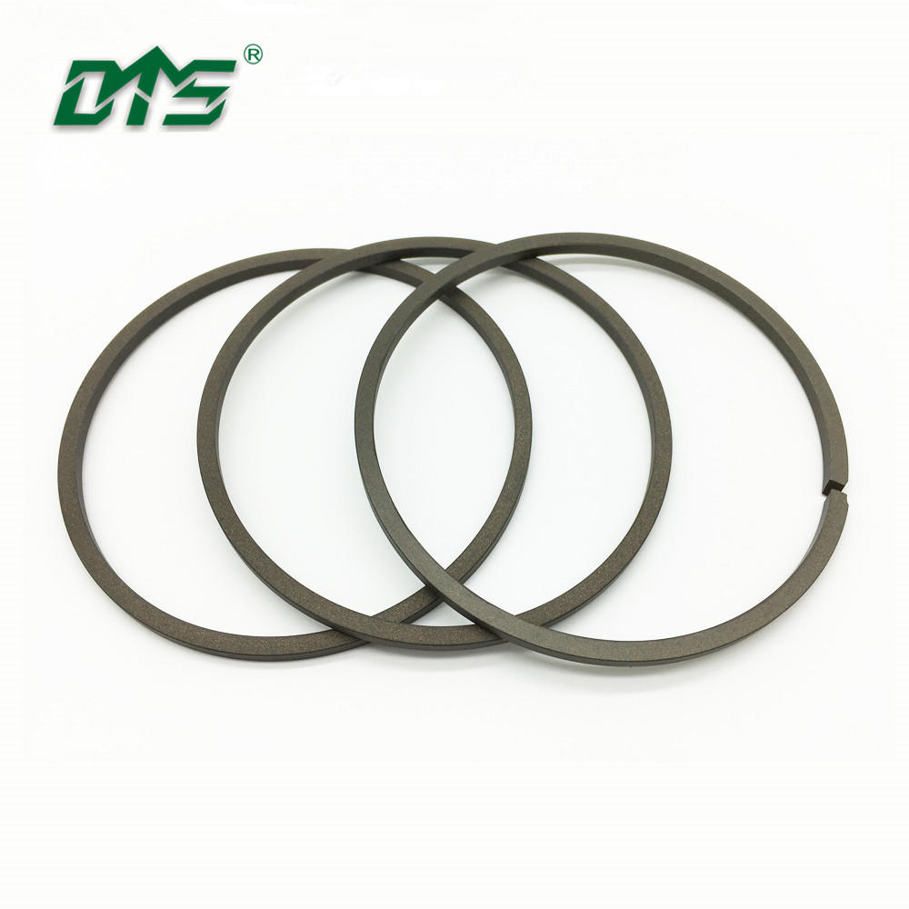 High Quality Hydraulic Scraper Dust Seal KZT With Brown Color Filled PTFE Material