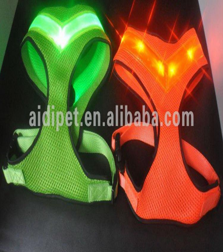 2019 New Style Flashing LED Safety Dog Vest