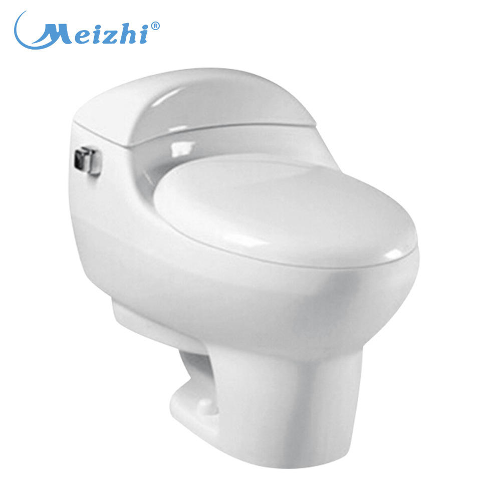 Chinaware bathroom one piece ceramic siphonic hydraulic toilet seat