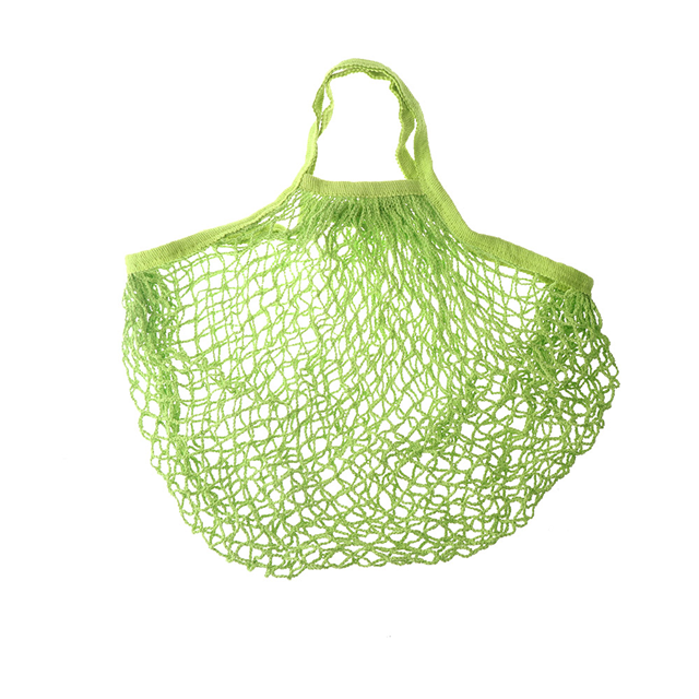 product-Osgoodway18 New Reusable Solid Shopping Bag String Grocery Bag Shopper Cotton Tote Mesh Net -1