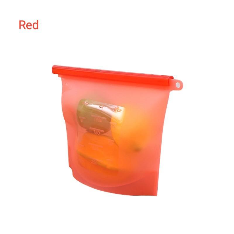 Amazon Hot500ml 1000ml 1500ml 2000ml 3000ml 4000ml Preservation Reusable Silicone Food Storage Bag silicone sandwich bag