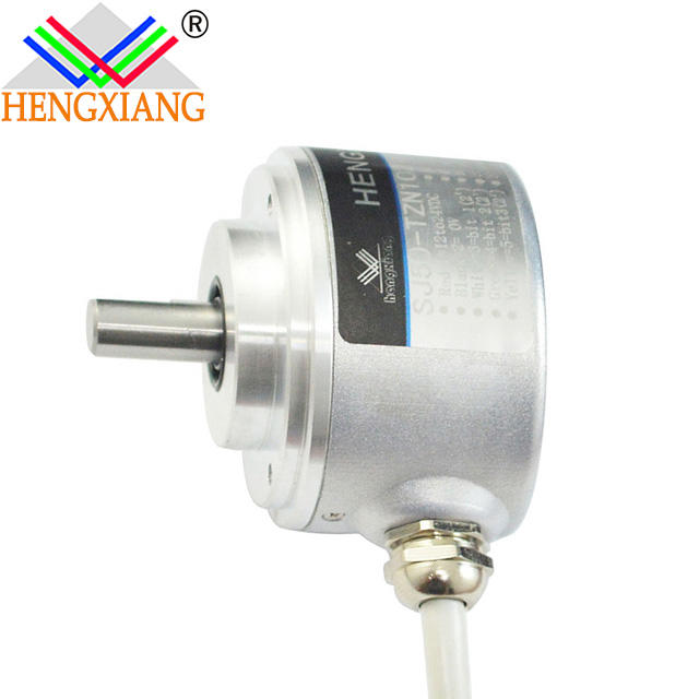 Hengxiang brand absolute encoder SJ50 RS485/RS422/Parallel Absolute Encoder Optical Machine 8mm solid shaft