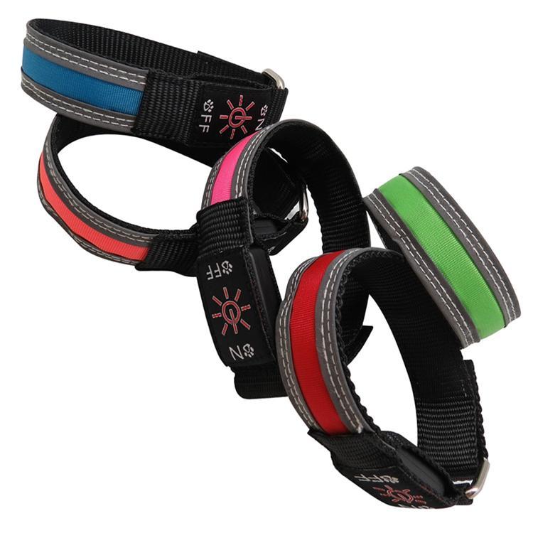 Wholesale Personalized USB Rechargeable LED Flashing Reflective Sport Armband