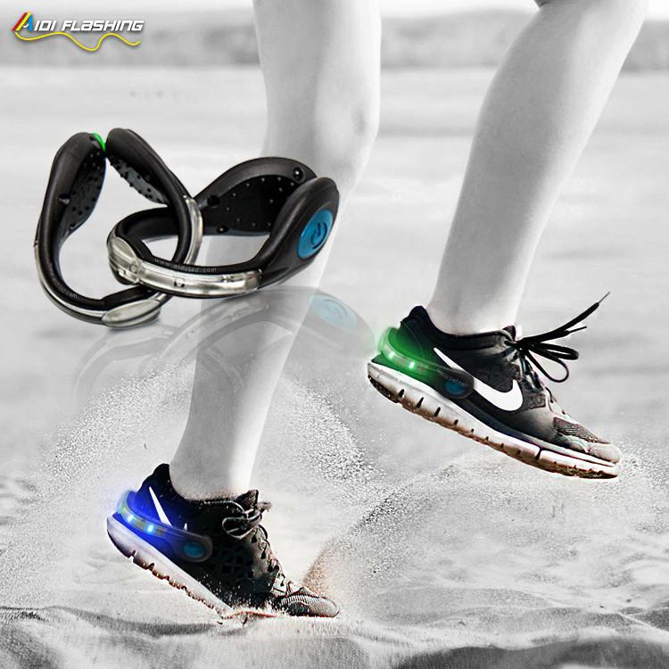 New design for night safetyLed Light-up Shoe clip(dot light)