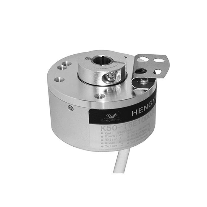 K50-Series fixed spring 1024ppr ABZ 8-24VDC IP50 3000 RPM EL50FA-1024 hollow shaft encoder