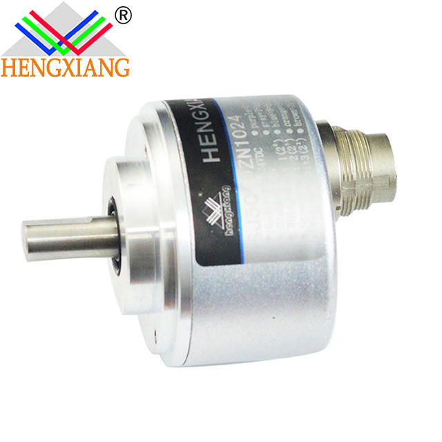 shanghai Hengxiang solid absolute encoder SJ50 Best Price Absolute Shaft Flexible Coupling For CNC Machine 1024ppr 10bit
