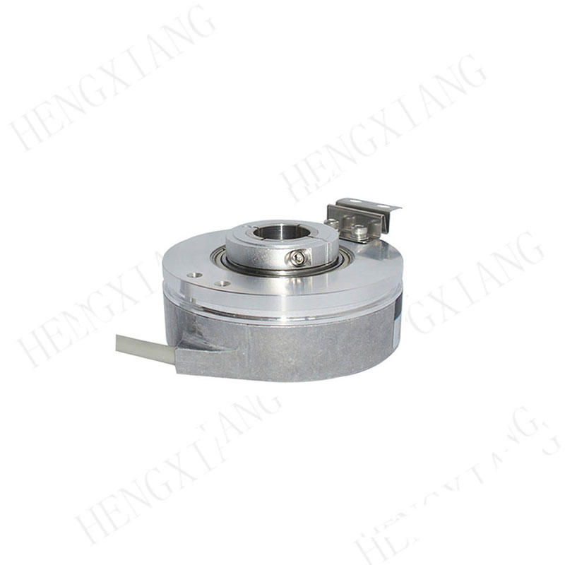 K76 Sealed Hollow Shaft Encoderhs351024b44b7 1024 PPR 19mm shaft including mounting bracket for motor or machine shafts
