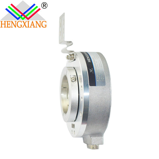 Hengxiang hollow shaft encoder K100 ABZ-3 phase signal optical rotary line driver,DC5V