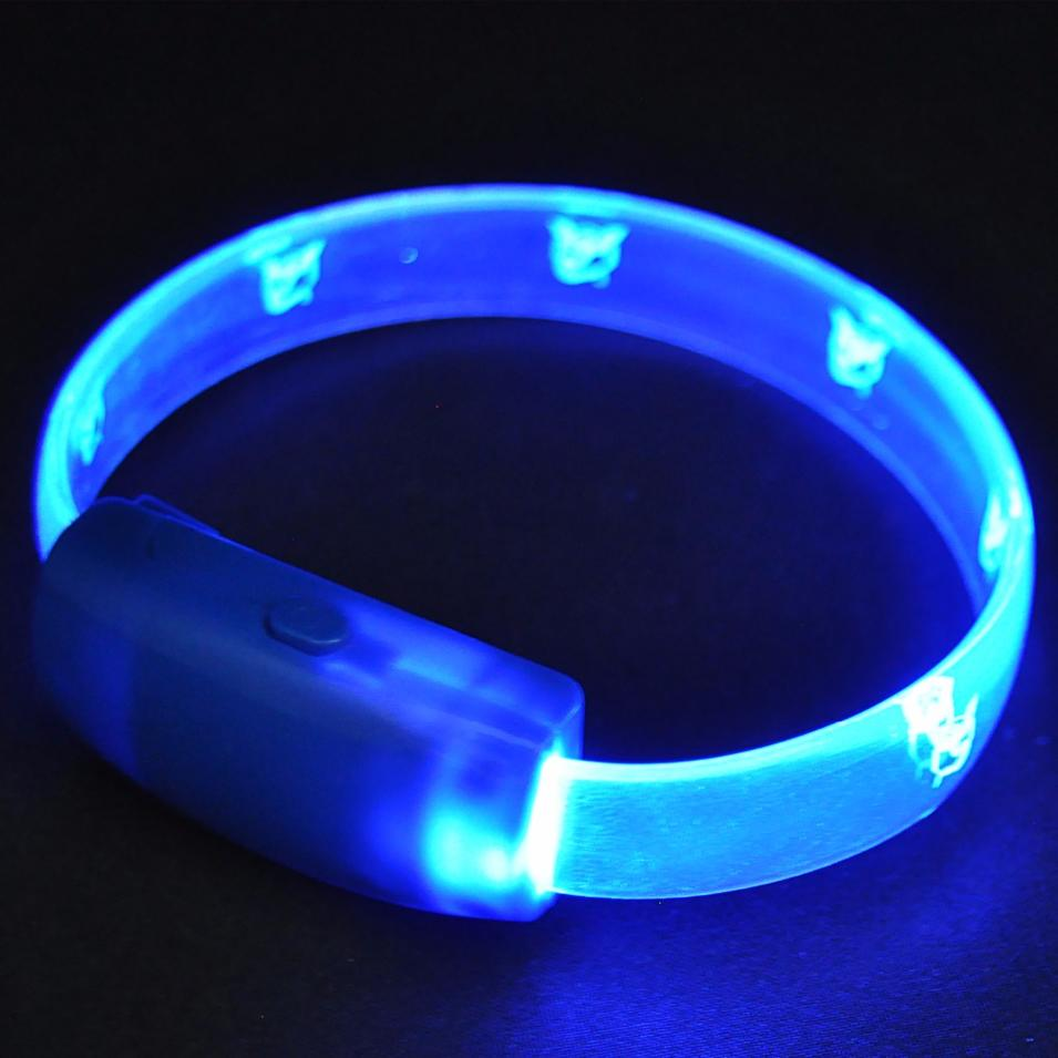 Best Factory Products TPU Multicolor Flashing Led Bracelet For Party Festival