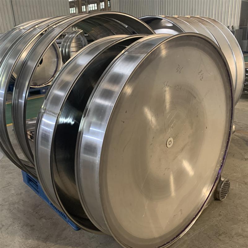 Carbon steel gas tankFlat Head Dished Flat Bottom Head Flat Bottom Head For Tank