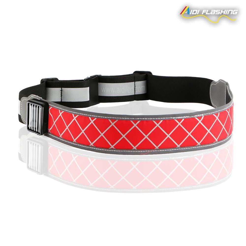 High Quality Flash Led Running Waist Belt
