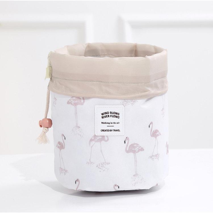 Osgoodway2 Customised Sublimation Trendy Ladies Cosmetic Bag Drawstring Make up Travel Bag