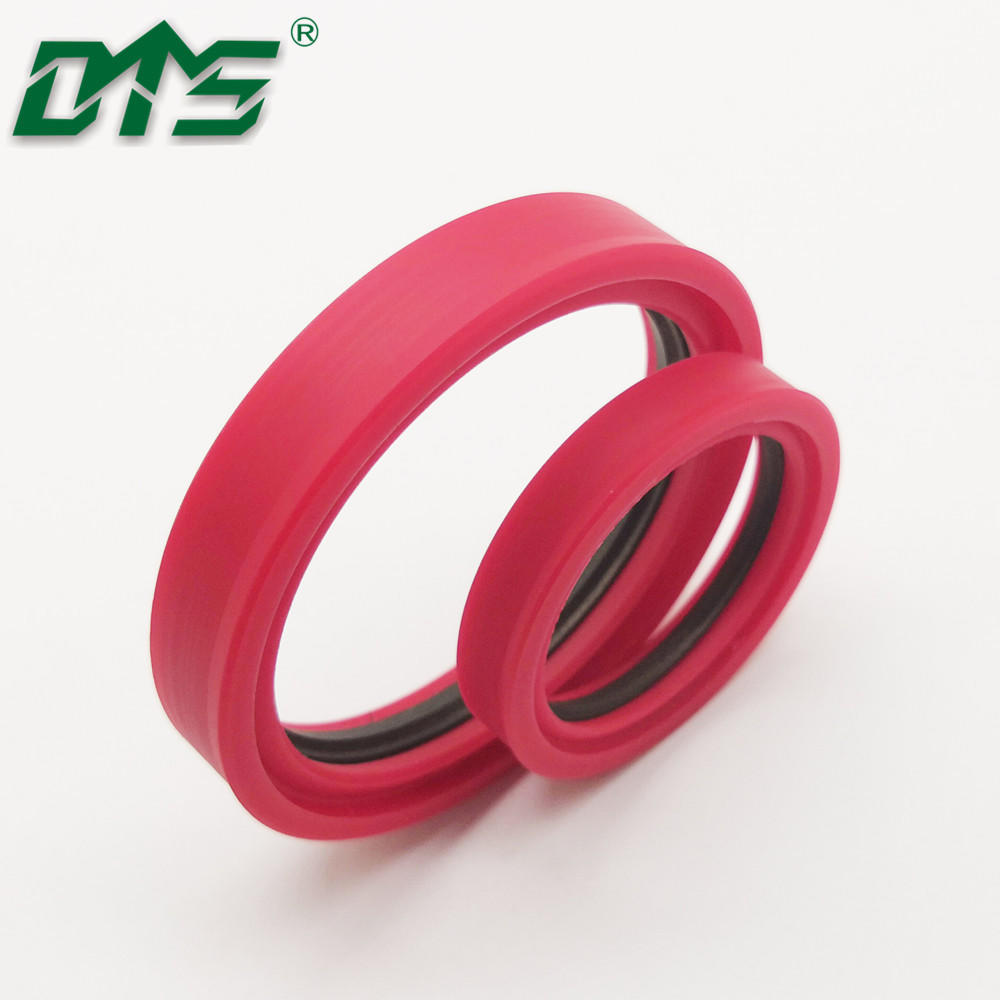 Filled PTFE Tandem Seals Low Friction Cylinder Shaft Rod Seal TDI