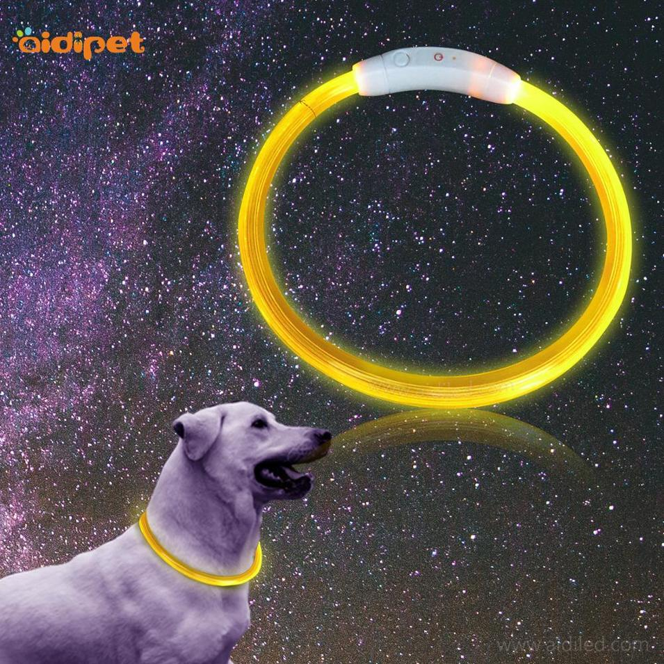 Glow In The Dark Sport LED Pet Training Dog Collar