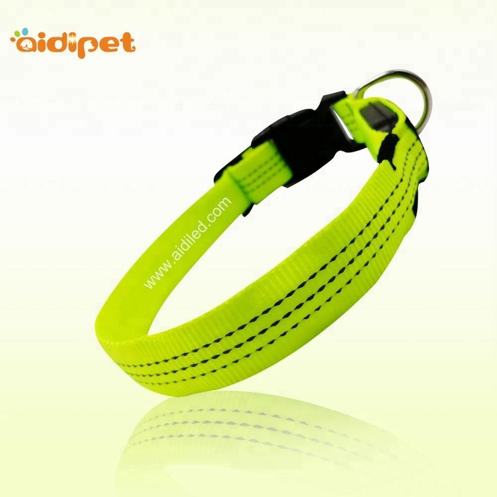 Durable Nylon Custom Dog Collar, Adjustable Dog Training Collar