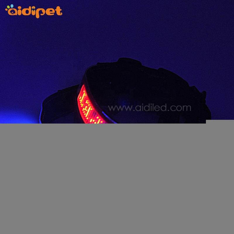 APP Controlled Led Smart Dog Collar Bluetooth Connection Led Screen Showing Words Collars for Dogs
