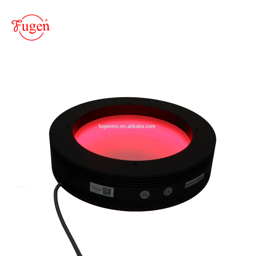 low cost 24V machine vision high brightness shadowless led ring lighting for industrial inspect manufacturer in China(mainland)