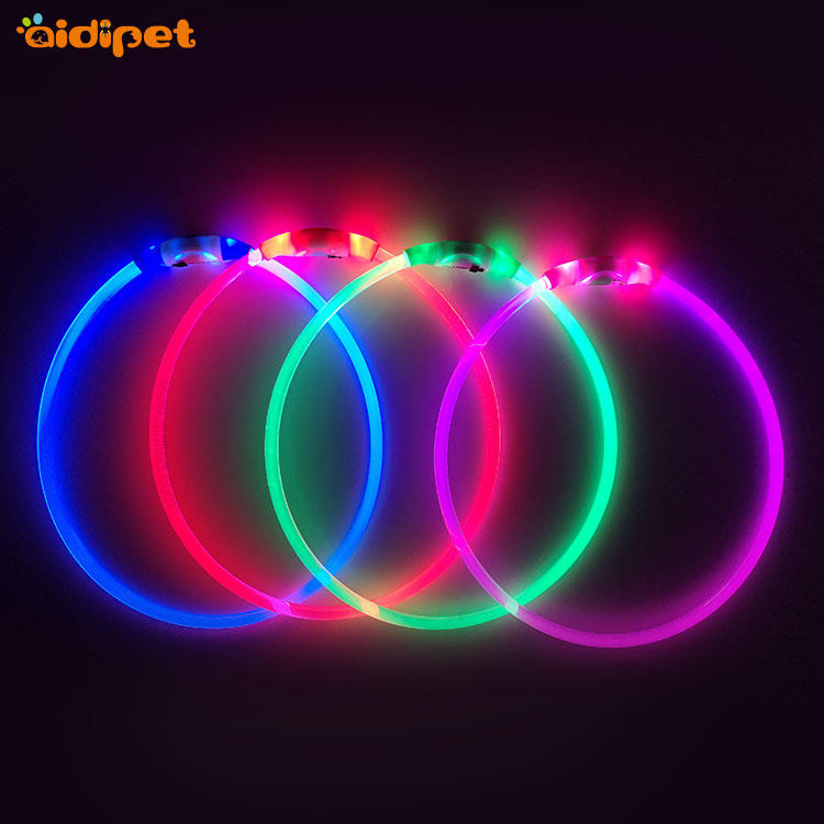great led dog collar in stock for sale, low MOQ. cheap dog collar