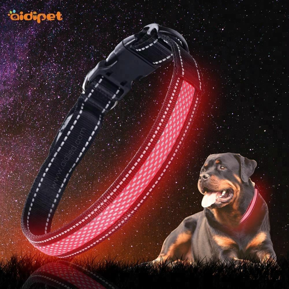 Promotion Product Save $1000 Led Glowing Rechargeable Dog Collar