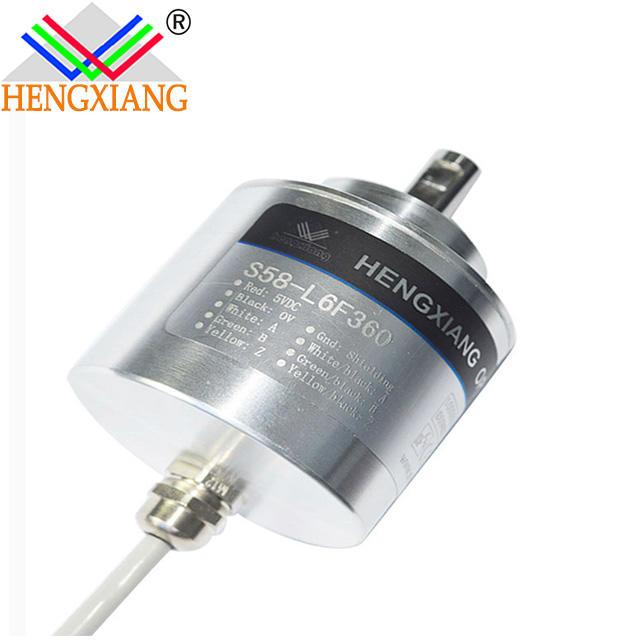 cheapest S58 Solid Incremental Encoder for Elevator Parts Voltage output DC12-24V