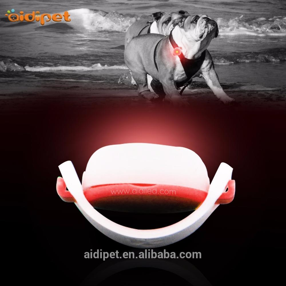 Silicon Led Dog Safety Light, Flashing Led Clip On Lights Waterproof