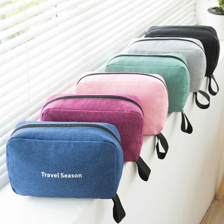 product-Osgoodway2 Waterproof Portable Travel Organizer Cosmetic Bag Foldable Hanging Toiletry Bag-O-1