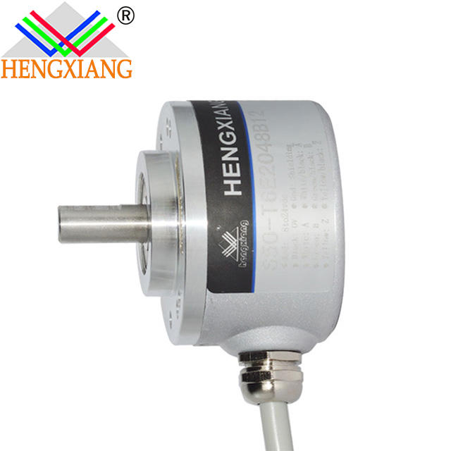 Hengxiang encoder S50 24V DC Motor Incremental Rotary Encoder 1024 pulse 1024ppr 1 wire