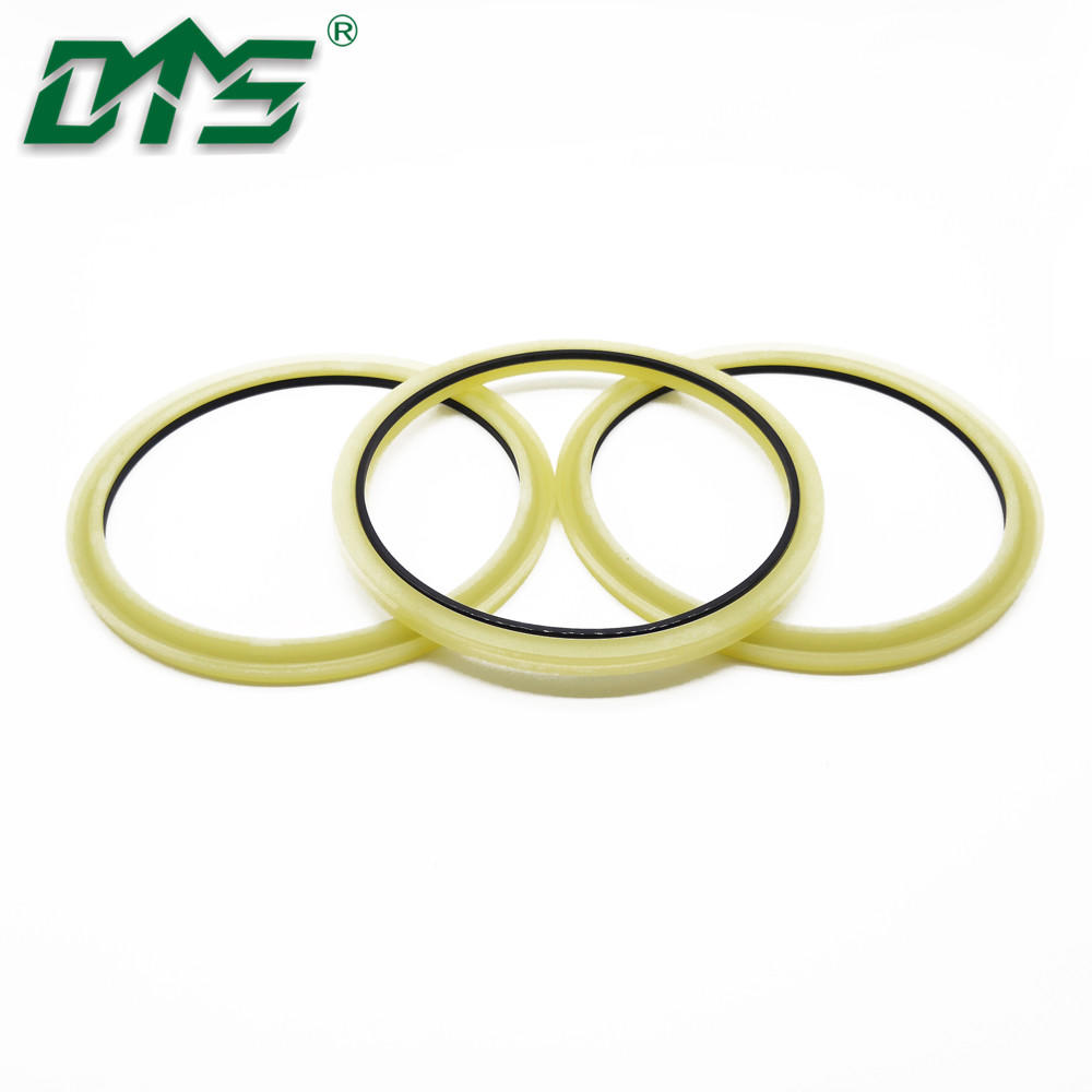 Construction Equipment Hydraulic Rod Buffer Seals Ring HBY PU and Nylon