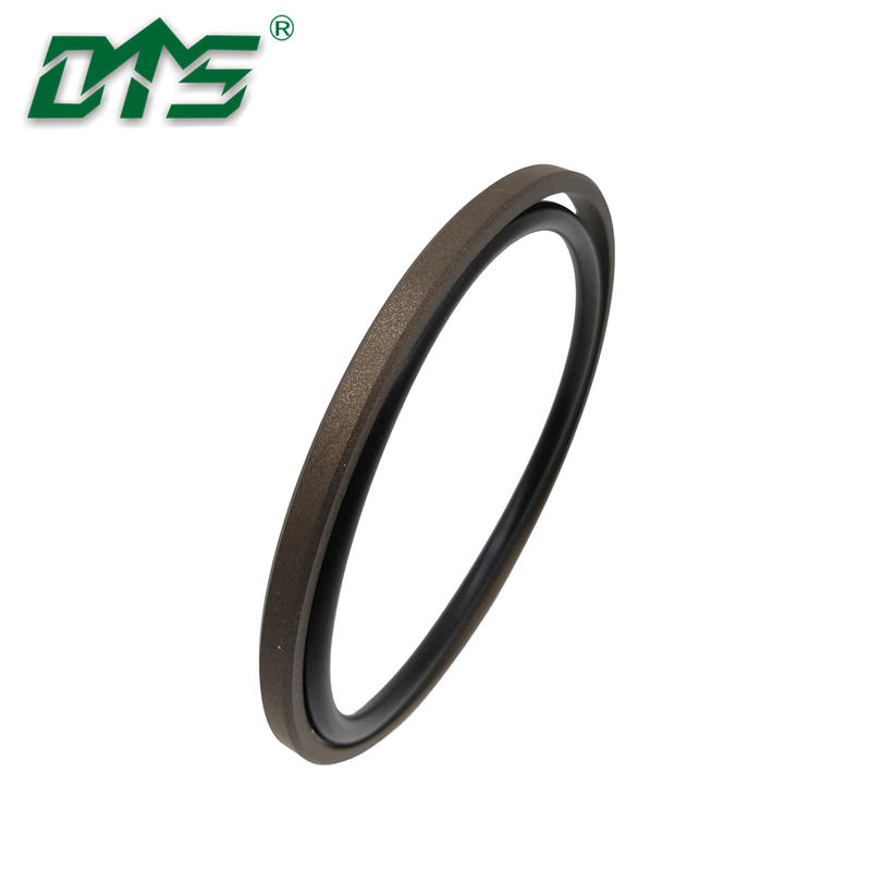 Brown Color PTFE Bronze Hydraulic Cylinder Glyd Ring