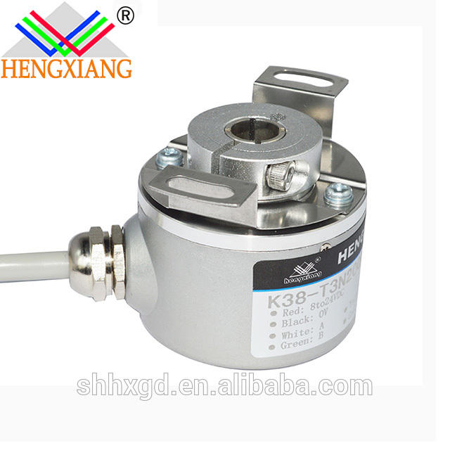 K38 hollow shaft blind hole 8mm A+B+Z+NPN 600ppr DC5 encoder hohner replacement factory
