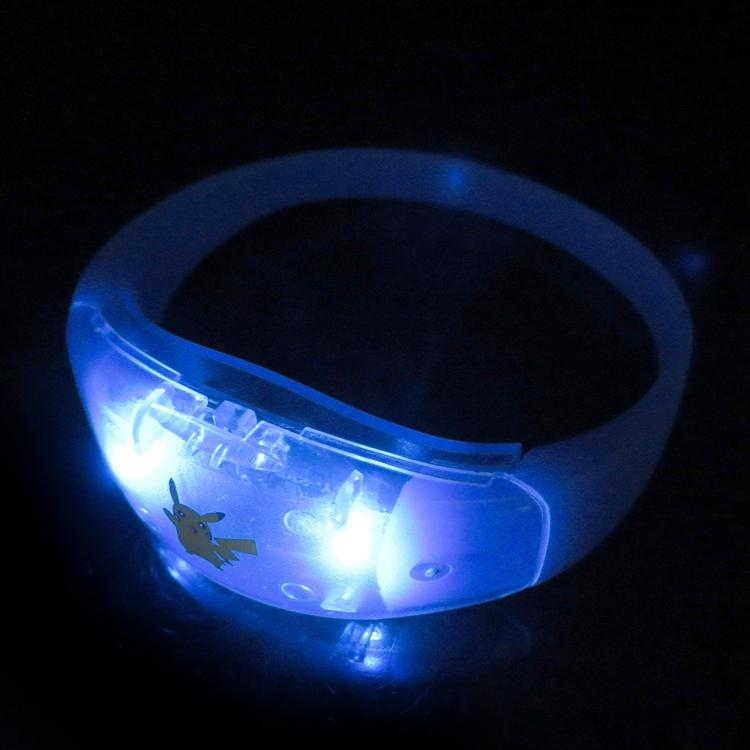 New Motion Activated Sound Activated LED Bracelet Silicone Concert Luminous Wristband