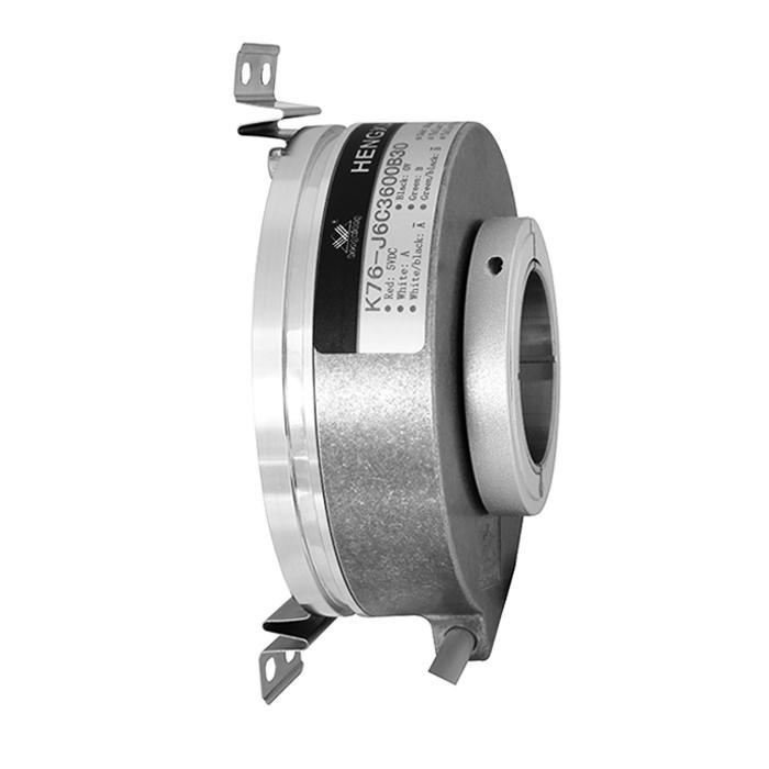 china encoder manufacturer K76 TTL /HTL rotary encoders Voltage output,DC5V pulse encoder 1024ppr inner hole 25mm