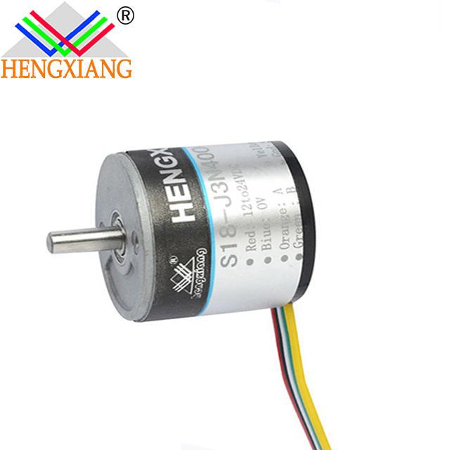 S18 china encoder incremental rotary 100 pulse 100ppr