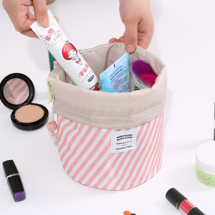 product-Osgoodway2 Customised Sublimation Trendy Ladies Cosmetic Bag Drawstring Make up Travel Bag-O-1